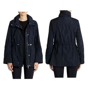 Moncler Ocre rain jacket in navy 5 or XXL